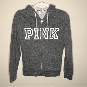 Victoria's Secret PINK Zip Up Hoodie Jacket Sz XS